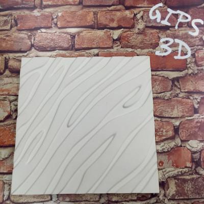 3d панели гипсовые «Золотая зебра»