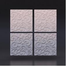 3d панели «Мягкий цвет»