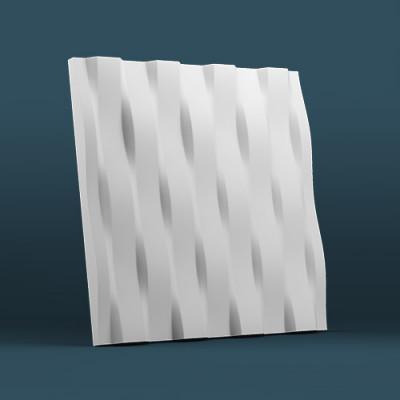 3d панели гипсовые «Бриз»