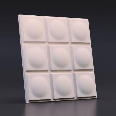 3d панели гипсовые  «Геометрия»