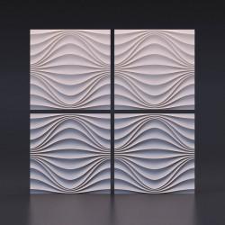 3d панели «Круговая волна»