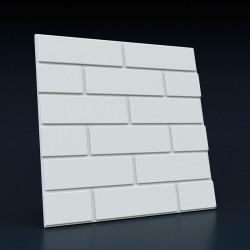 3d панели «Кирпич плоский»