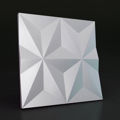 3d панели гипсовые «Шестиконечная звезда»