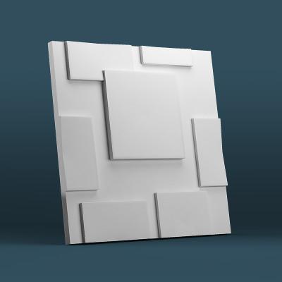 3d панели гипсовые «Квадраты»