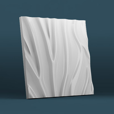 3d панели гипсовые «Зебра»