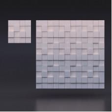 3d панели «Квадрат разноуровневый»