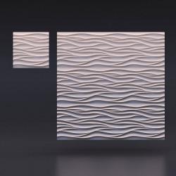 3d панели «Острые волны»