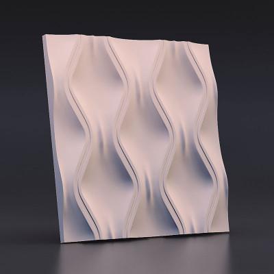 3d панели гипсовые «Текущий песок»