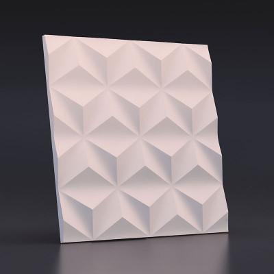 3d панели гипсовые «Гексакуб»